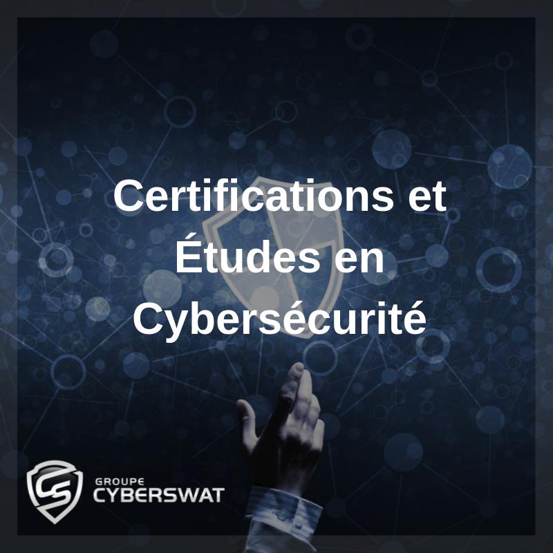 Certifications et diplômes en cybersécurité