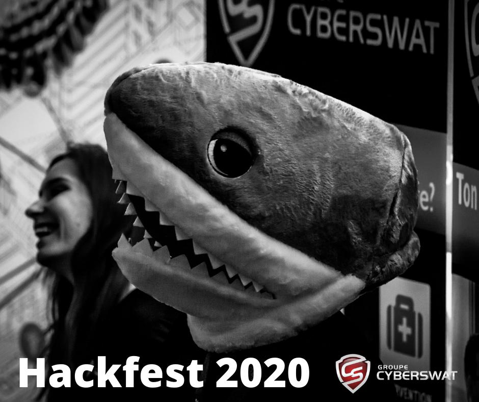 Hackfest: Cyberswat de nouveau partenaire en 2020